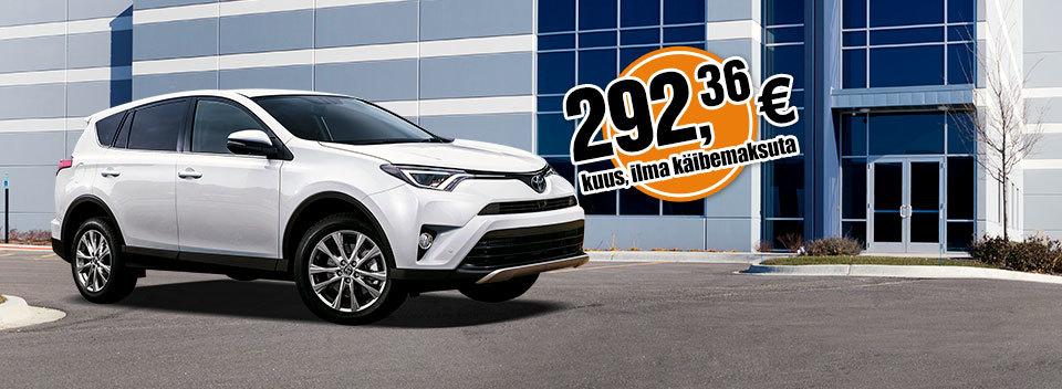 Авто лизинг полного сервиса Toyota RAV4 | SIXT Leasing