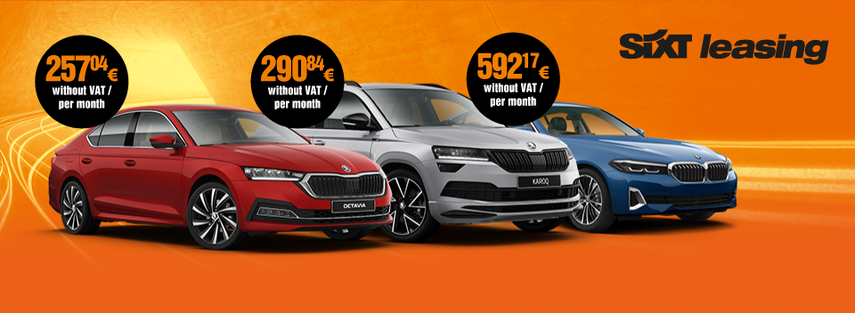 Car Leasing for companies - full service car leasing - SIXT Leasing
