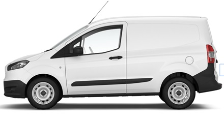 Ford Transit Courier autoliising | Sixt Leasing