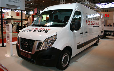 Nissan NV400 Galleriefoto