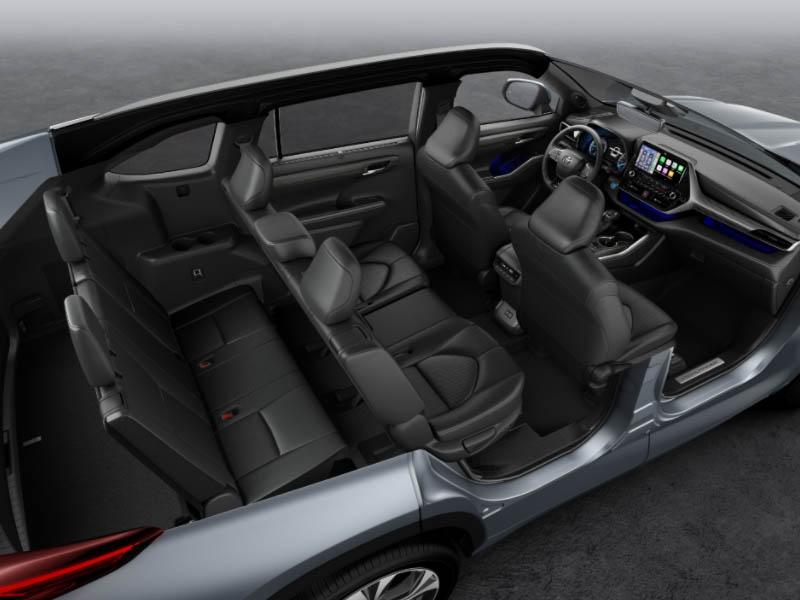 Toyota Highlander autoliising | Sixt Leasing